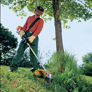 Stihl husqvarna weed eater trimmers brush saws for Comparatif debroussailleuse stihl husqvarna